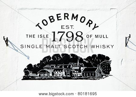 Tobermory Distillery Mural