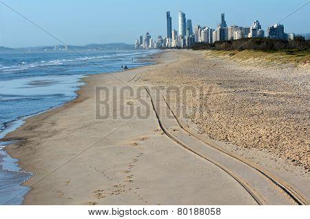 Surfers Paradise Skyline -queensland Australia