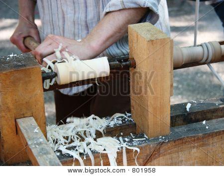 Turning wood 1