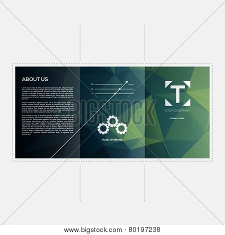 Abstract Business Brochure Template Vector Design | EPS10 Layout