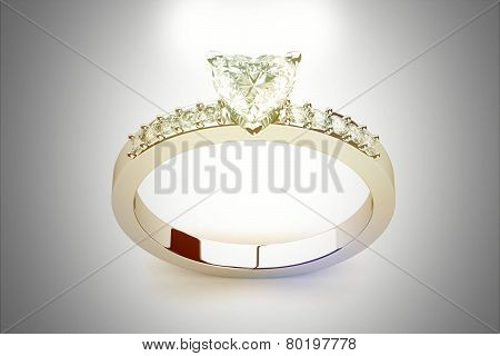 Beautiful Jewelry Rings (high Resolution 3D Image).