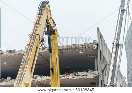 Demolition Car Park