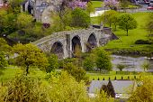foto of william wallace  - the famous stirling bridge - JPG
