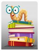 picture of bookworm  - Bookworm - JPG
