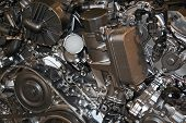 pic of chassis  - Diesel powered truck engine - JPG