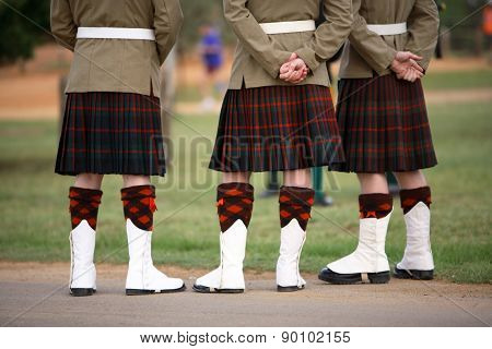 Scottish Solders