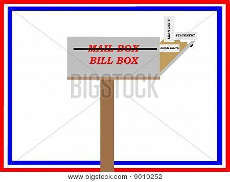 Financial Stress Mail Box