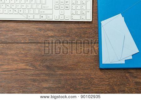 Envelopes On Desk