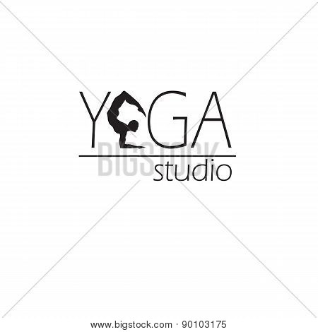 Logo for yoga