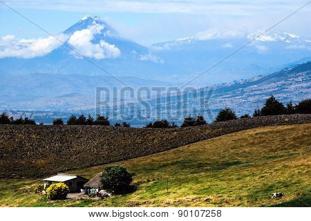 Tungurahua And Altar Volcanoes, Andes Of Central Ecuador