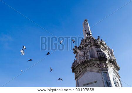Miguel Hidalgo's monument