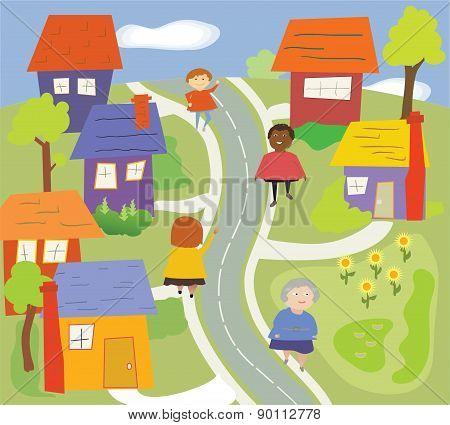 Walking In The Neighborhood.eps