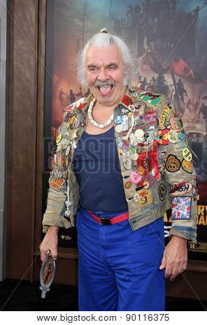 LOS ANGELES - MAY 7:  Hugh Keays-Byrne at the Mad Max: Fury Road Los Angeles Premiere at the TCL Chinese Theater IMAX on May 7, 2015 in Los Angeles, CA