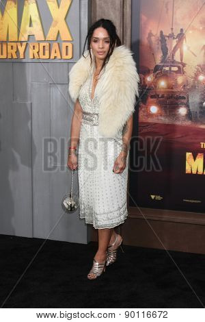 LOS ANGELES - MAY 7:  Lisa Bonet at the Mad Max: Fury Road Los Angeles Premiere at the TCL Chinese Theater IMAX on May 7, 2015 in Los Angeles, CA