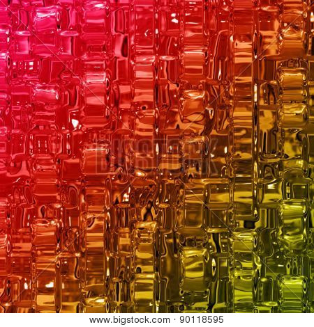 Abstract Illustrated Wonderful Glass Design Background Pattern