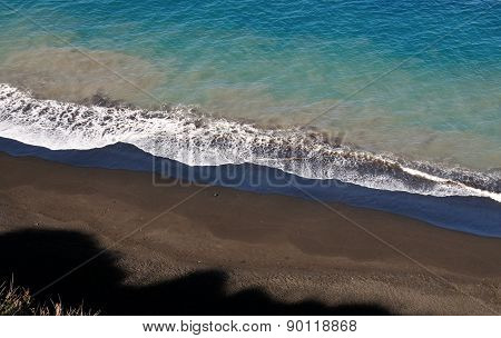 Shadow Sand And Waves