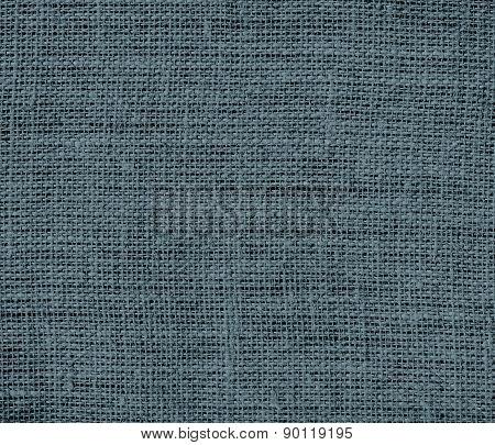 Cadet color burlap texture background