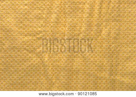 Yellow Polyvinyl  Texture Wrinkled