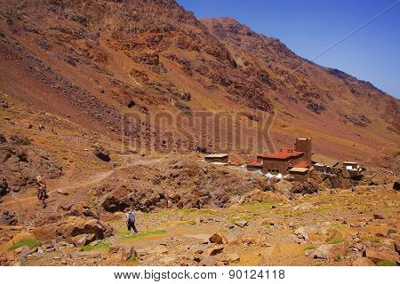 Morocco, Toubkal National Park, High Atlas
