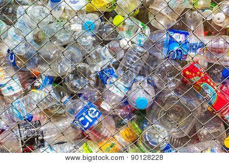 Plastic Bottle In Case