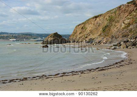 Polkerris Beach, Cornwall, England