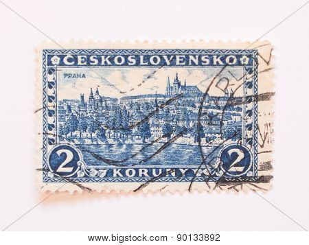 Czechoslovakia Stamp Dating Back To 1926