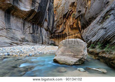The narrow, Zion National park, USA