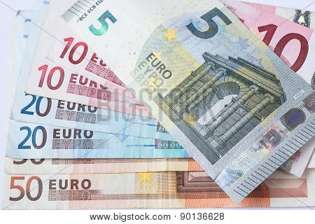 Euro Currency Banknote