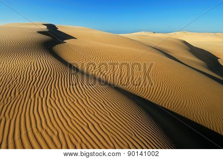 Orange Soft Desert Sand