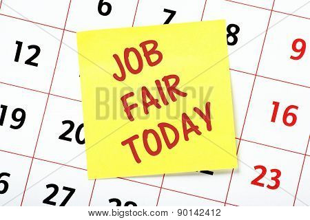 Job Fair Today Calendar Date