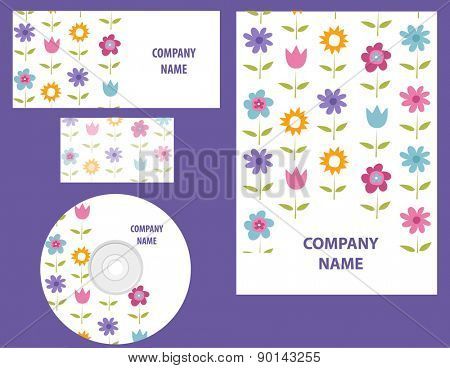 Floral Business identity template