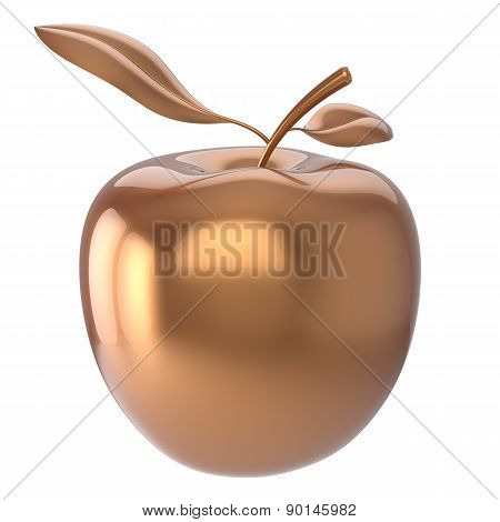 Golden Apple Ripe Fruit Nutrition Antioxidant Fresh Fruit