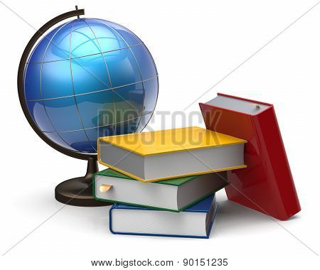 Globe Books Blank Global Geography International Knowledge