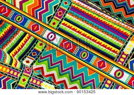 Abstract Colorful Texture Batik