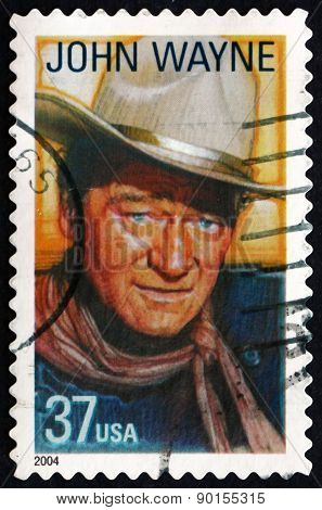 Postage Stamp Usa 2004 John Wayne, American Film Actor