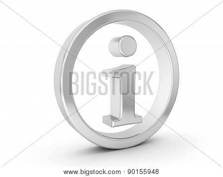 Silver Info Symbol