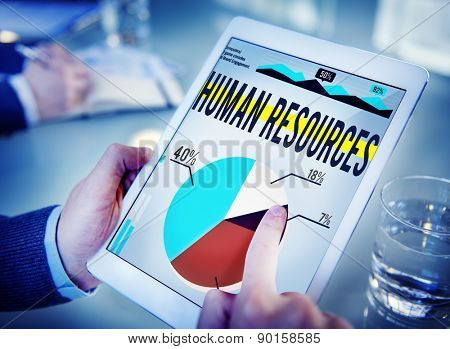 Human Resources Recruitment Career Job Hiring Concept