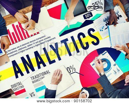 Analytics Analysis Statistics Marketing Data Concept