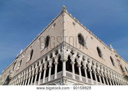 Doge's Palace (palazzo Ducale) In Venice