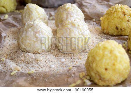 Preparation Of Sicilian Arancine