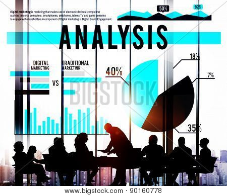 Analysis Strategy Learn Information Insight Marketing Concept