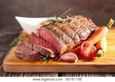 roast beef on board