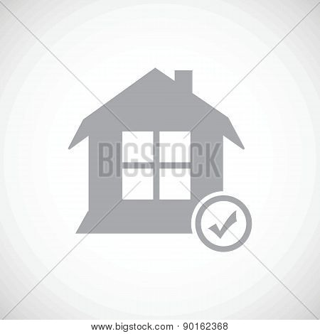 Selected house icon