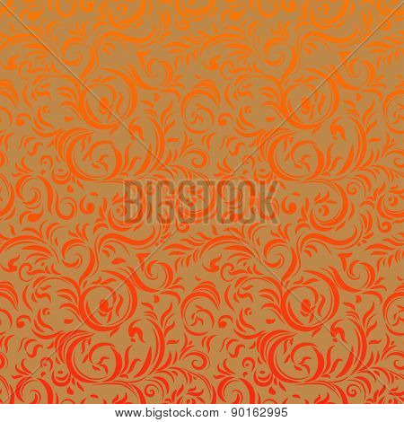 Bright floral seamless pattern for design, leaflet, cards, invitation and so on.
