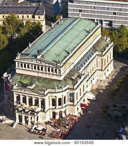 Famous Opera House In Frankfurt, The Alte Oper, Germany