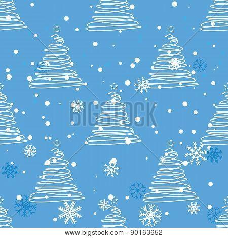 Twisted fir tree pattern