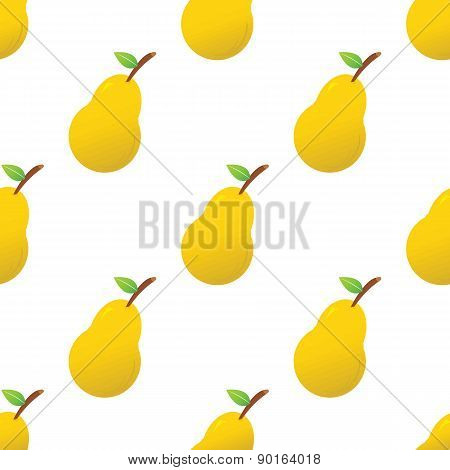 Colored pear pattern