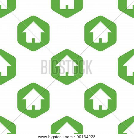 House sign pattern