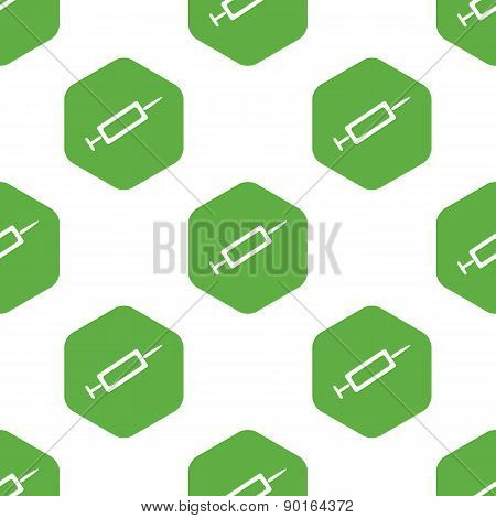 Syringe pattern
