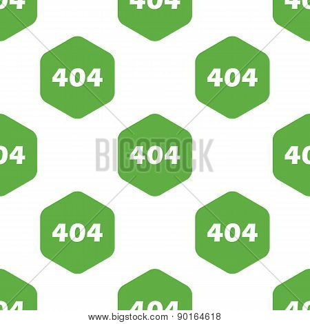 Error 404 pattern